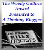 Woody Guthrie Award for Thinking Bloggers